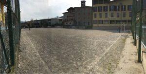 14/04/2018: foto ricordo del campo in sabbia
